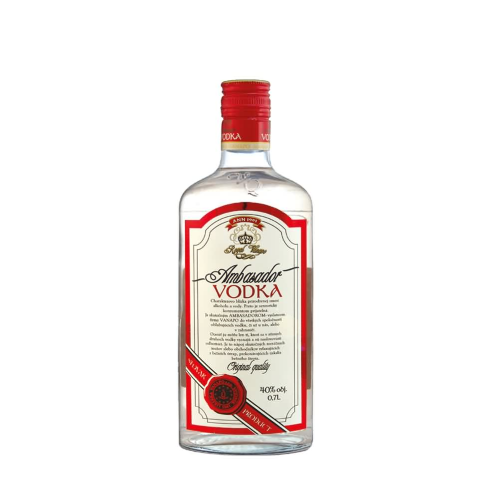Ambasador Vodka Royalweb - Ambasador Vodka Royal 40% 0.7l