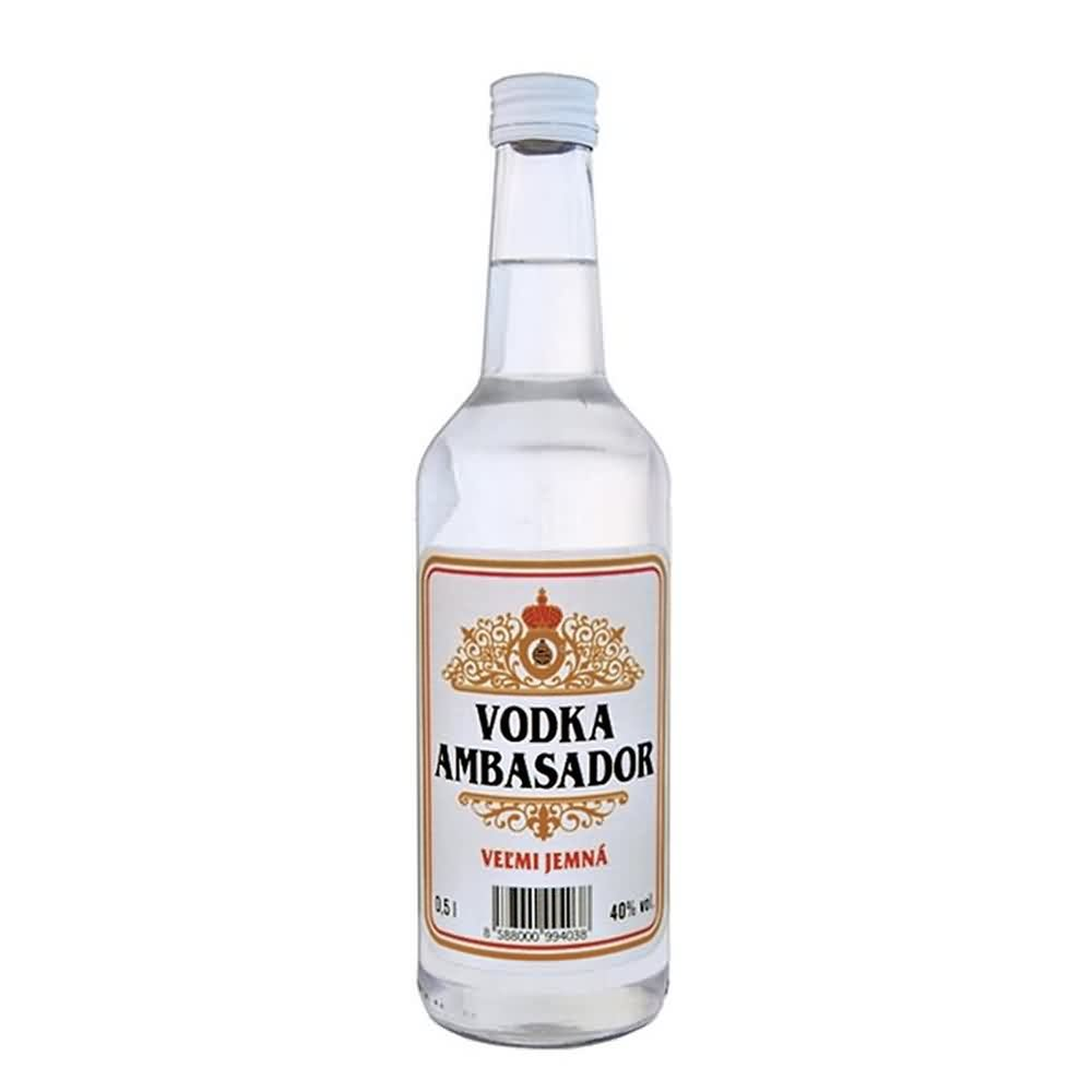 Ambasador vodka 40 05l 2 - Ambasador vodka 40% 0.5l