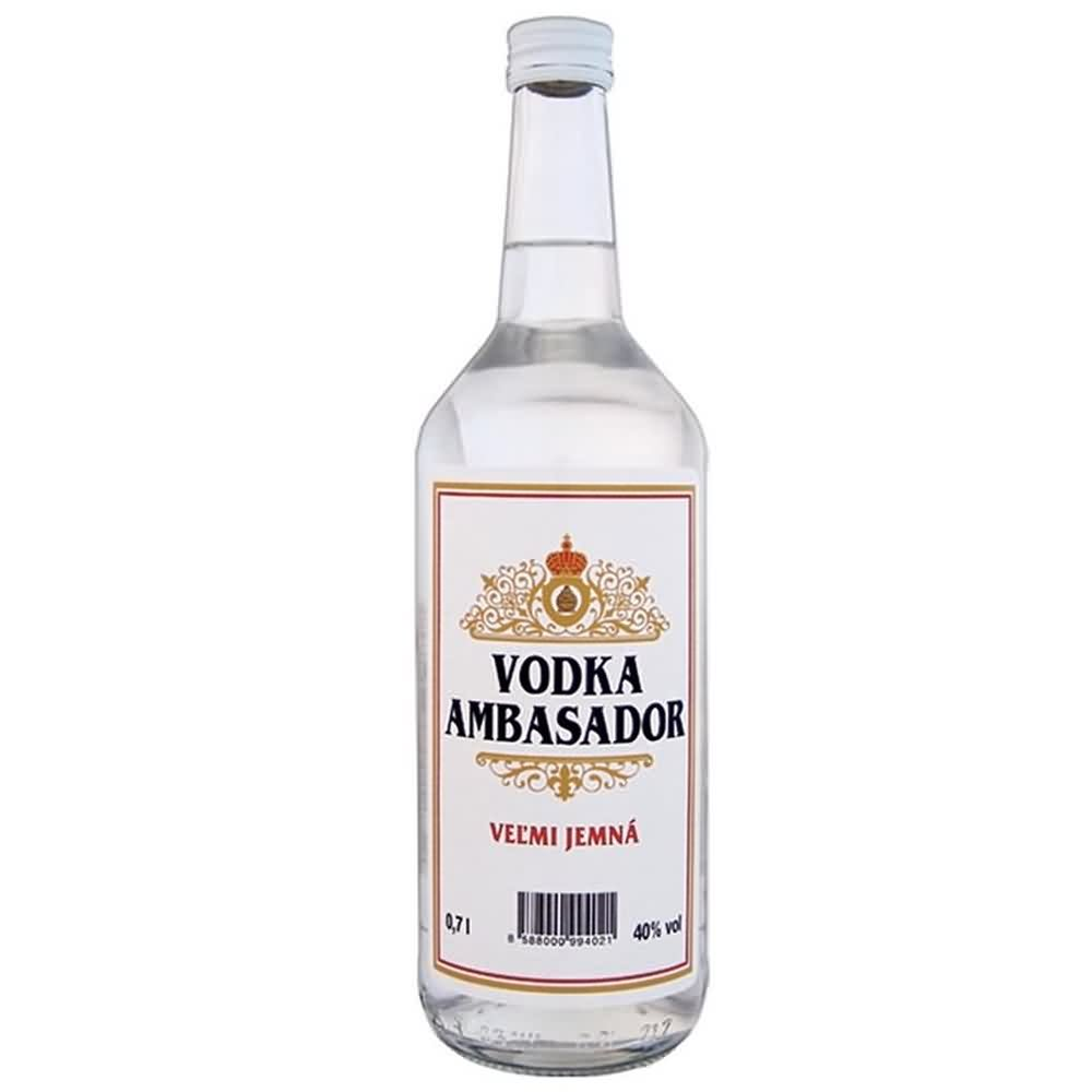 Ambasador vodka 40 07l 1 - Ambasador vodka 40% 0.7l