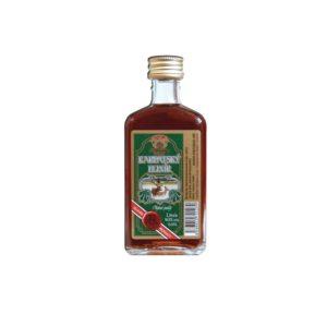 Karpatský elixír 40 005l web 300x300 - Carpathian elixir Royal 40% 0.05l