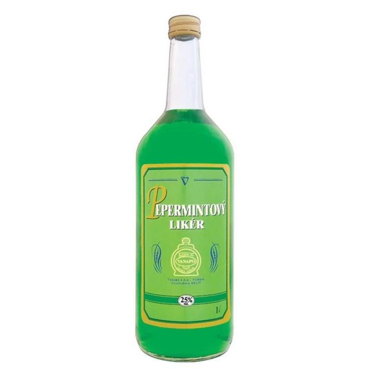 Pepermint likér 25 1l 1 768x768 - Pepermint likér 25% 1l