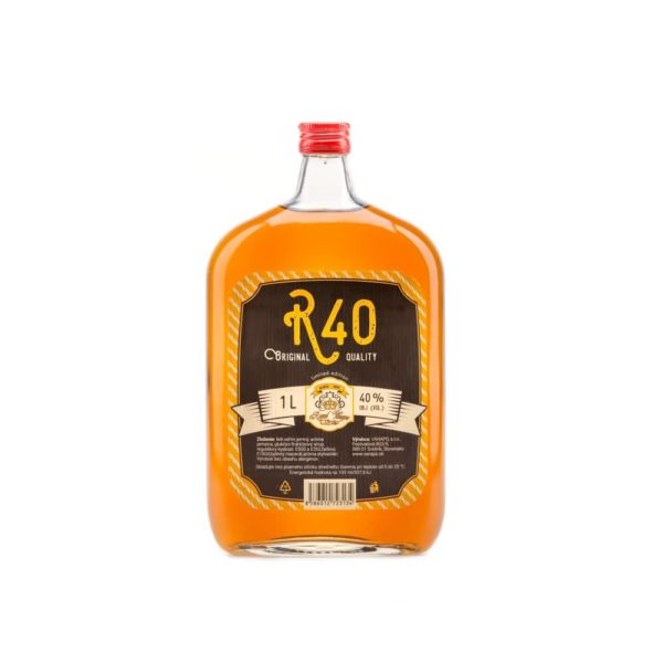 R40web 08B7279web 600x600 - R 40 Royal 40% 1l