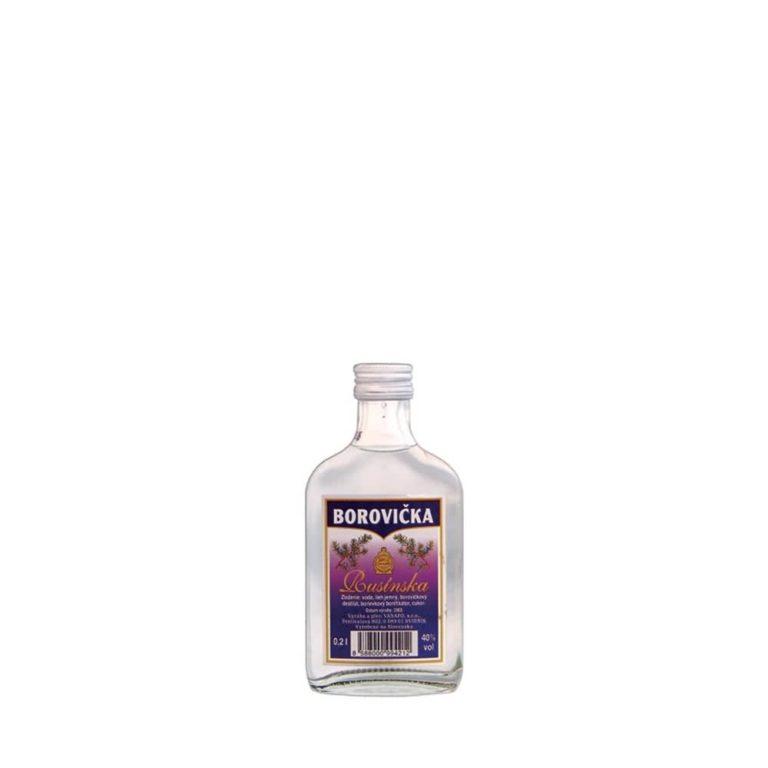 Rusínska borovička 40 02l 768x768 - Rusínska borovička 40% 0.2l