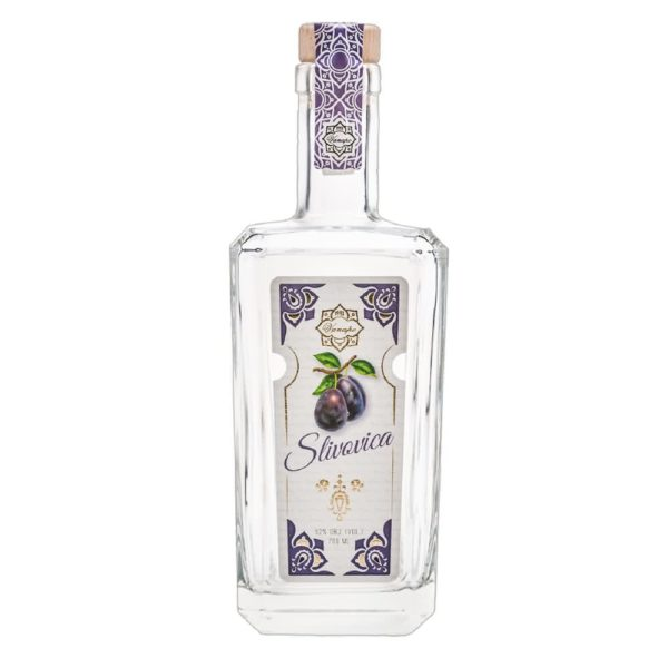 slivovicaweb 600x600 - Original Virtuous Plum Spirit 52% 0.7l