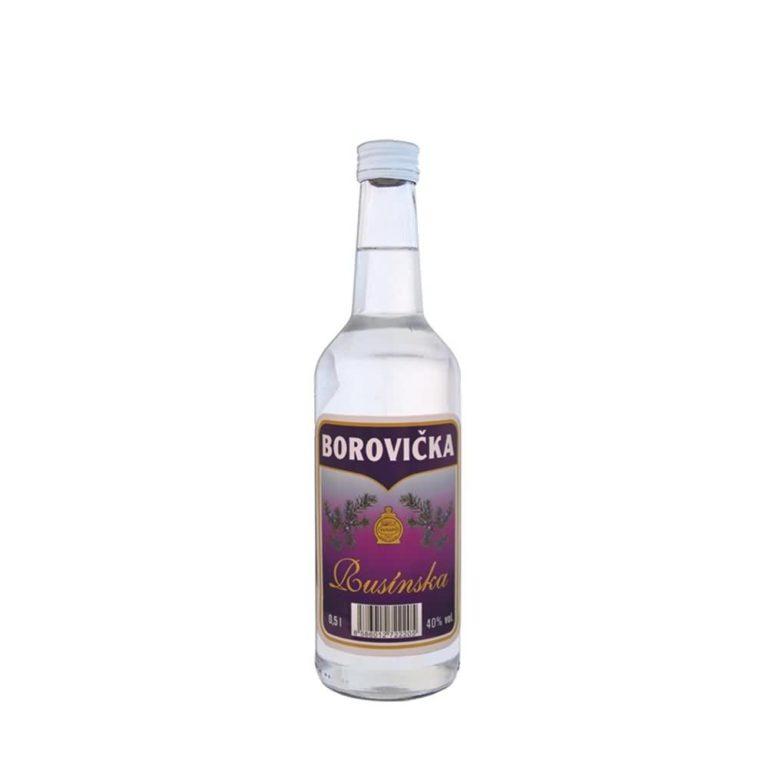 Rusínska borovička 40 05l 768x768 - Rusínska borovička 40% 0.5l
