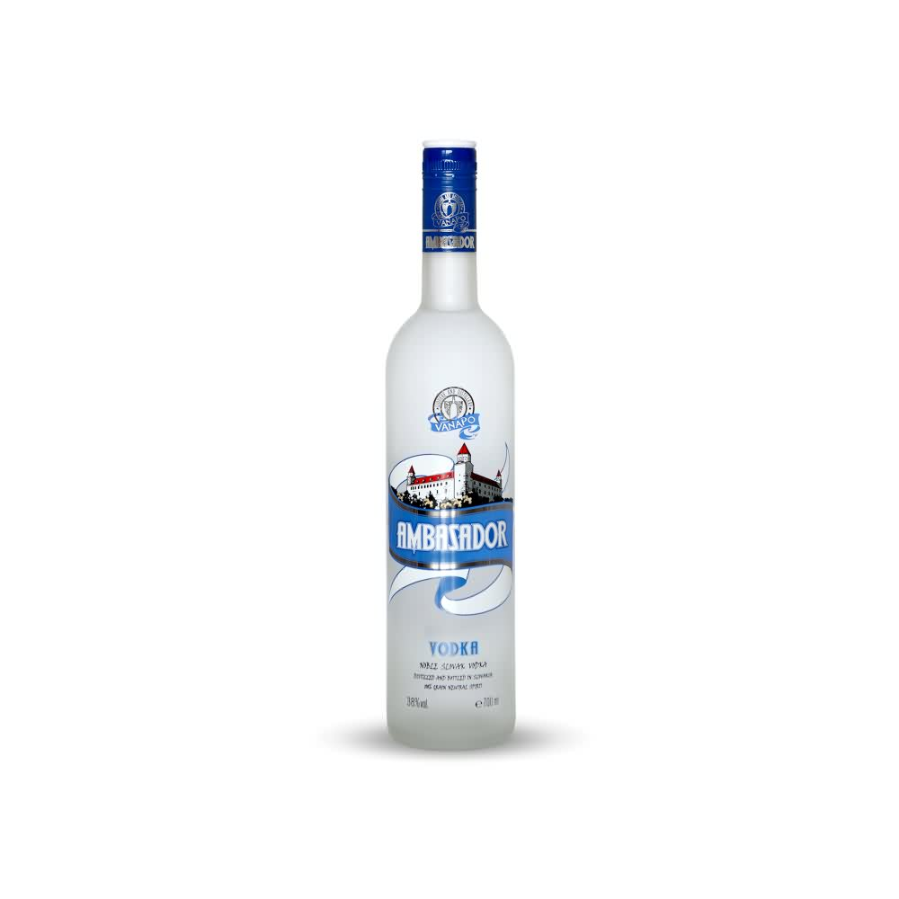 Vodka Ambasador 07 l 38 web - Vodka Ambasador 38% 0.7l