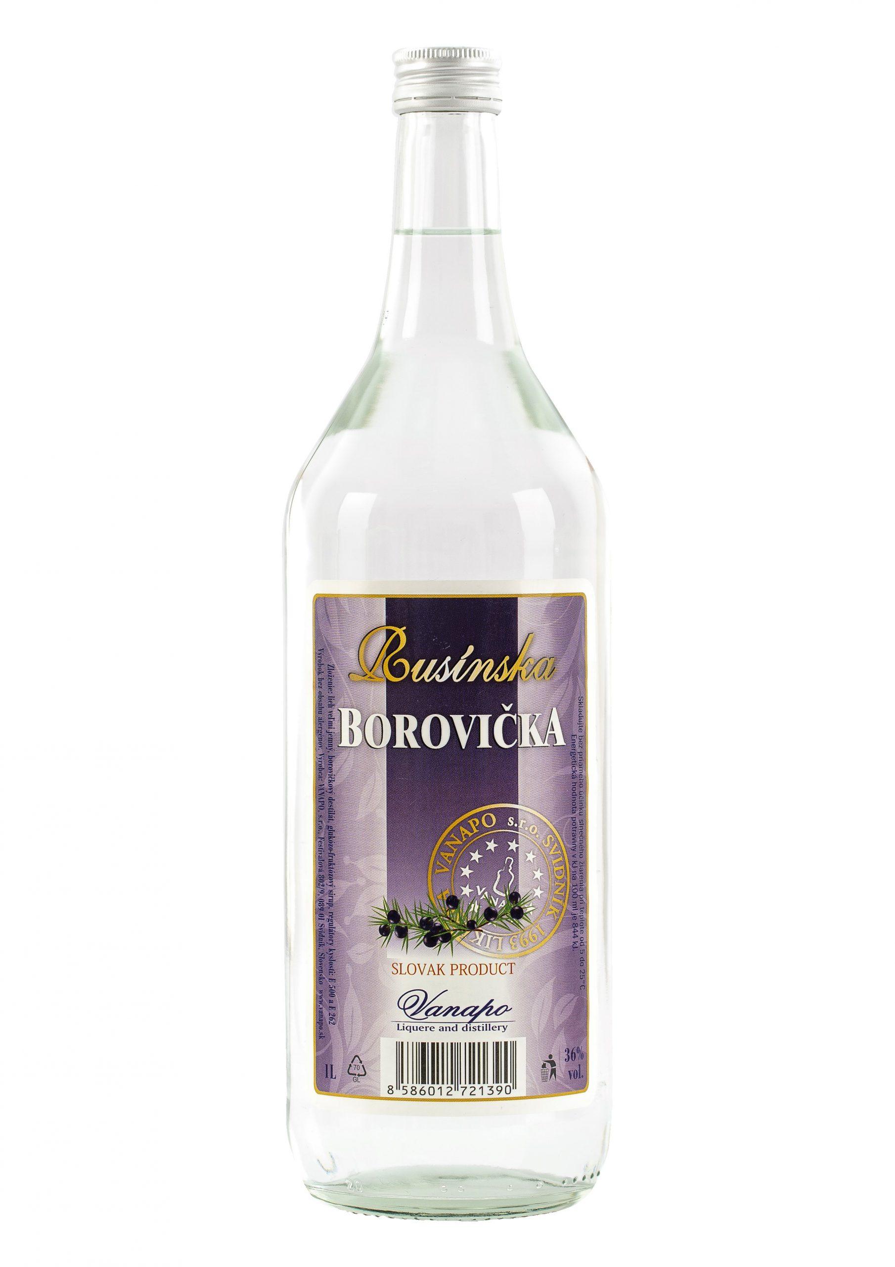Borovicka Rusinska 36 1L scaled 1 - Rusínska borovička