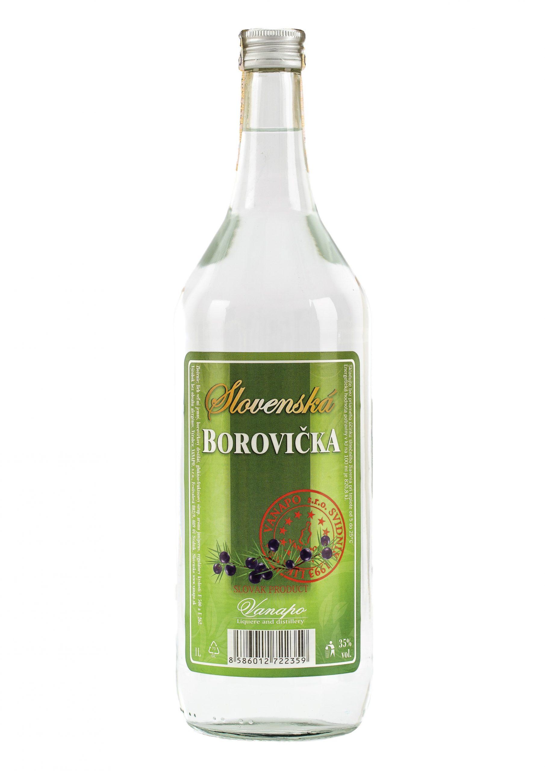 Borovicka Slovenska 35 1L scaled 1 - Slovenská borovička