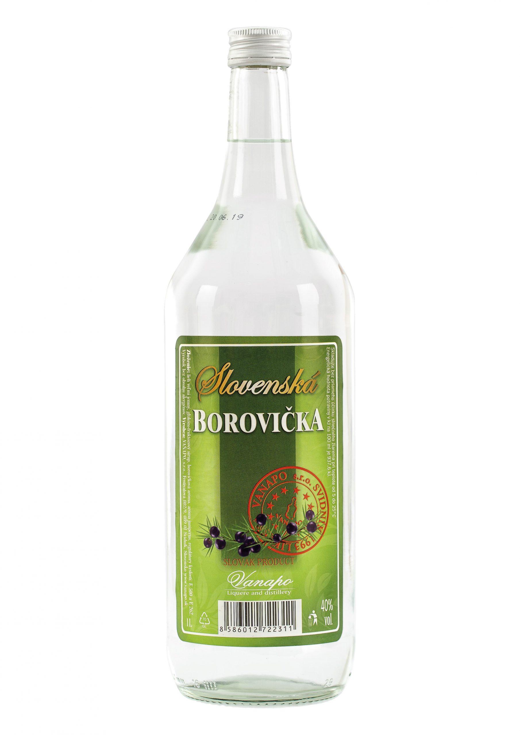 Borovicka Slovenska 40 1L scaled 1 - Slovenská borovička