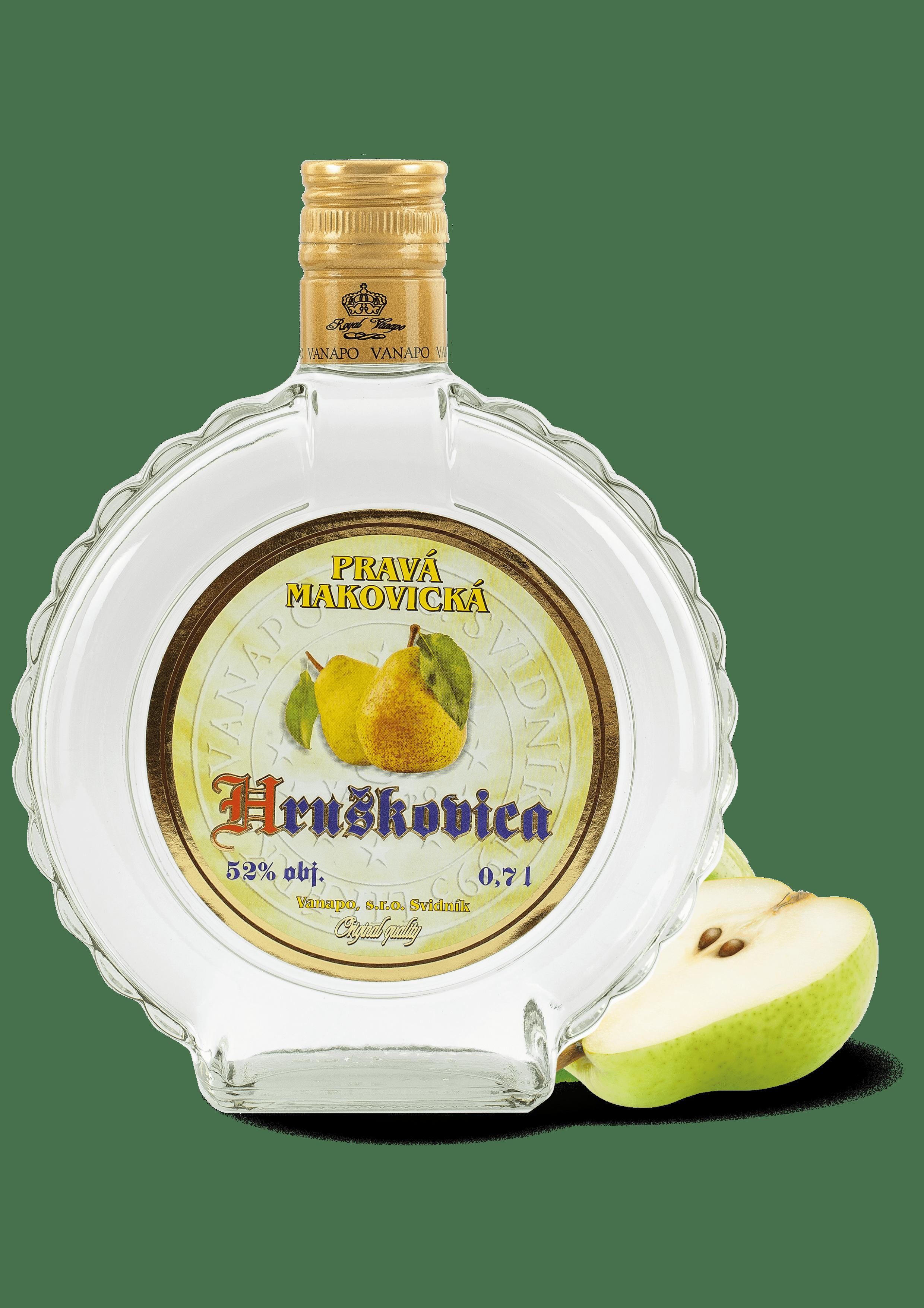 Destilaty3 min - Pravá Mak. hruškovica - budík