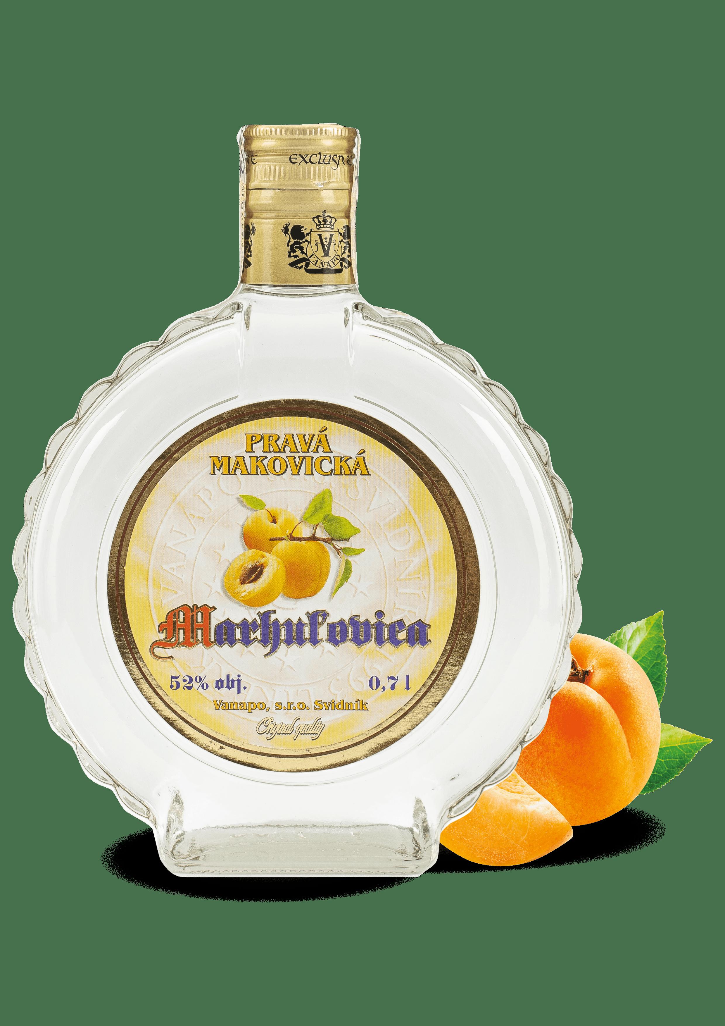 Destilaty4 min - Pravá Mak. Marhuľovica