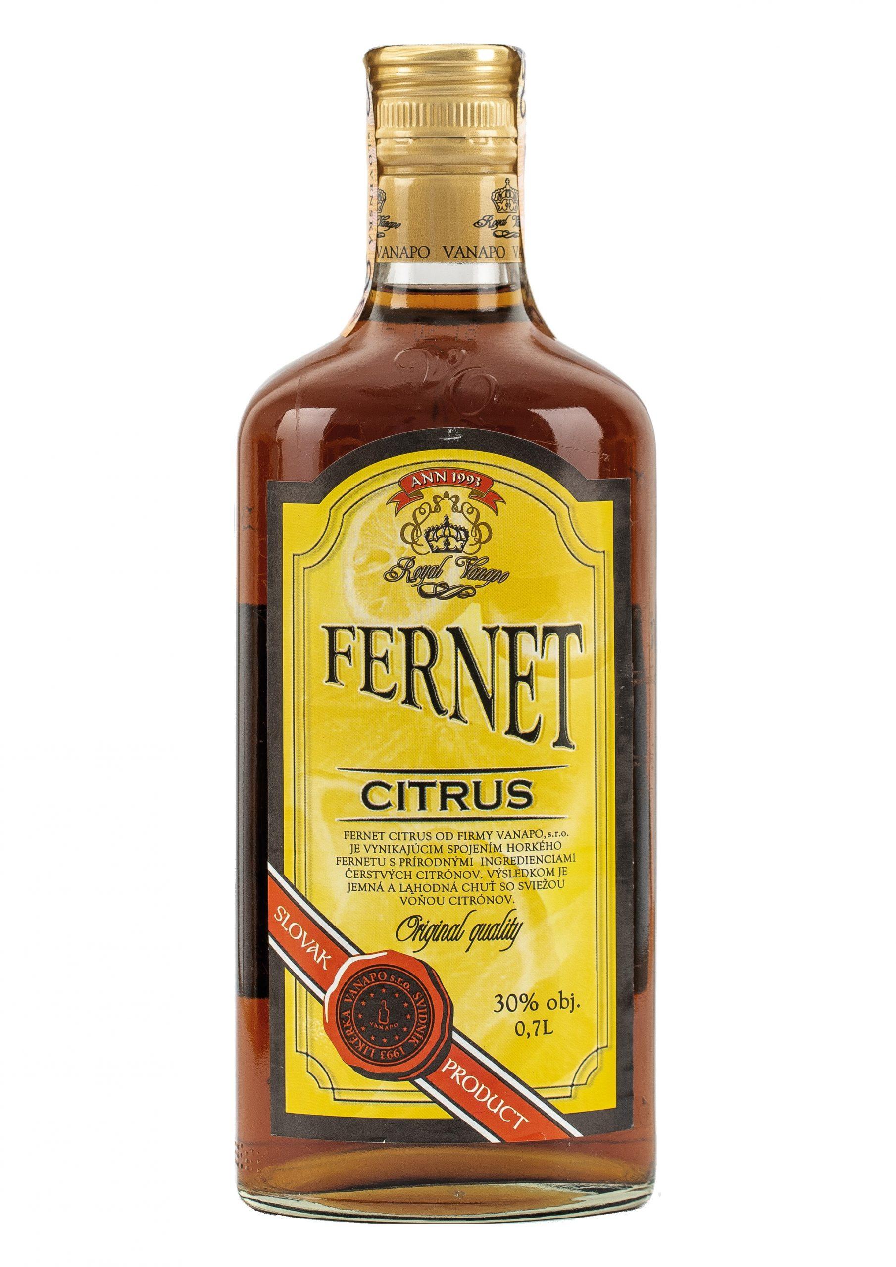 Fernet Citrus Royal 30 07L scaled 1 - Fernet Citrus Royal