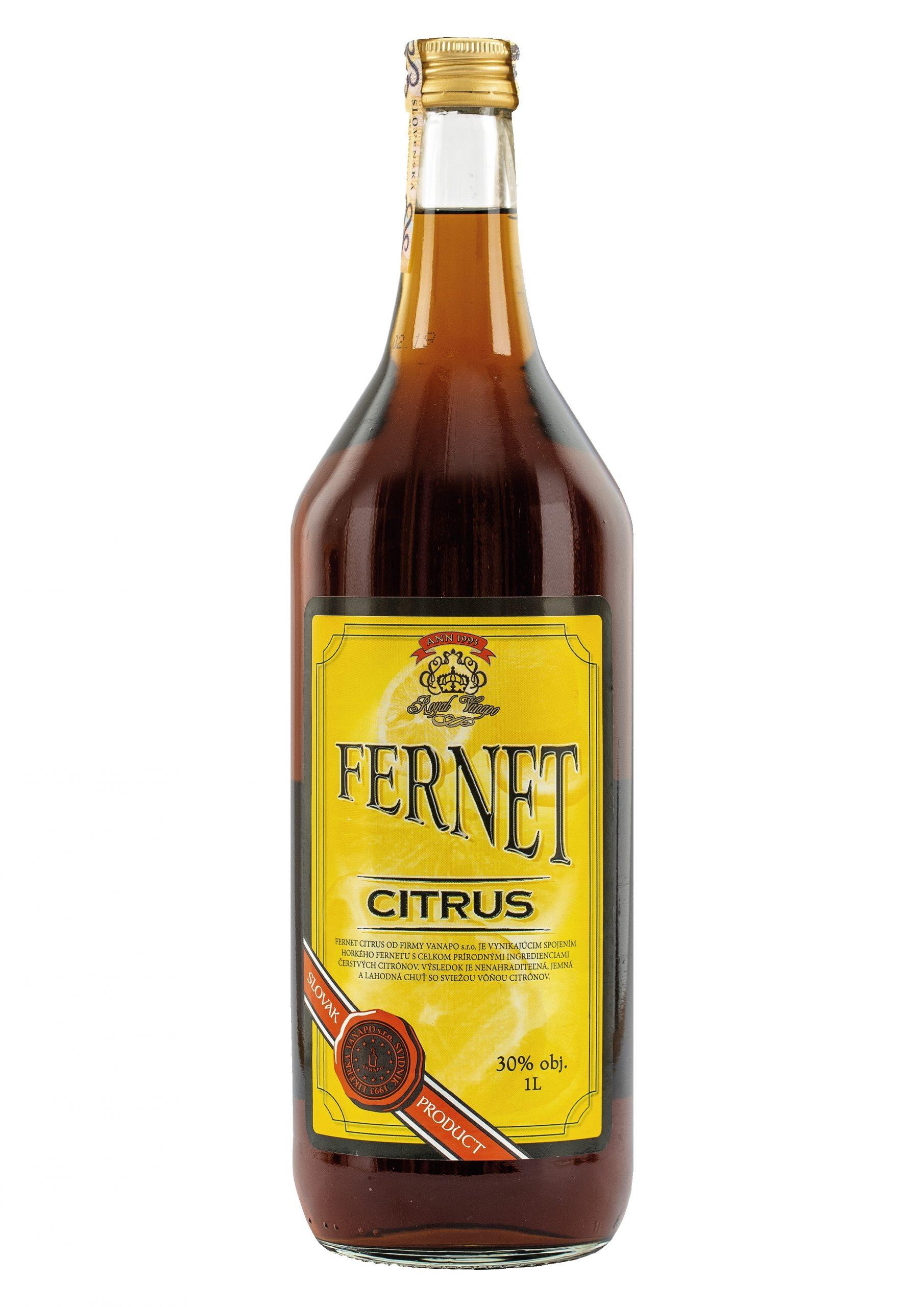 Fernet Citrus Vanapo 30 1L scaled 1 - Fernet Citrus