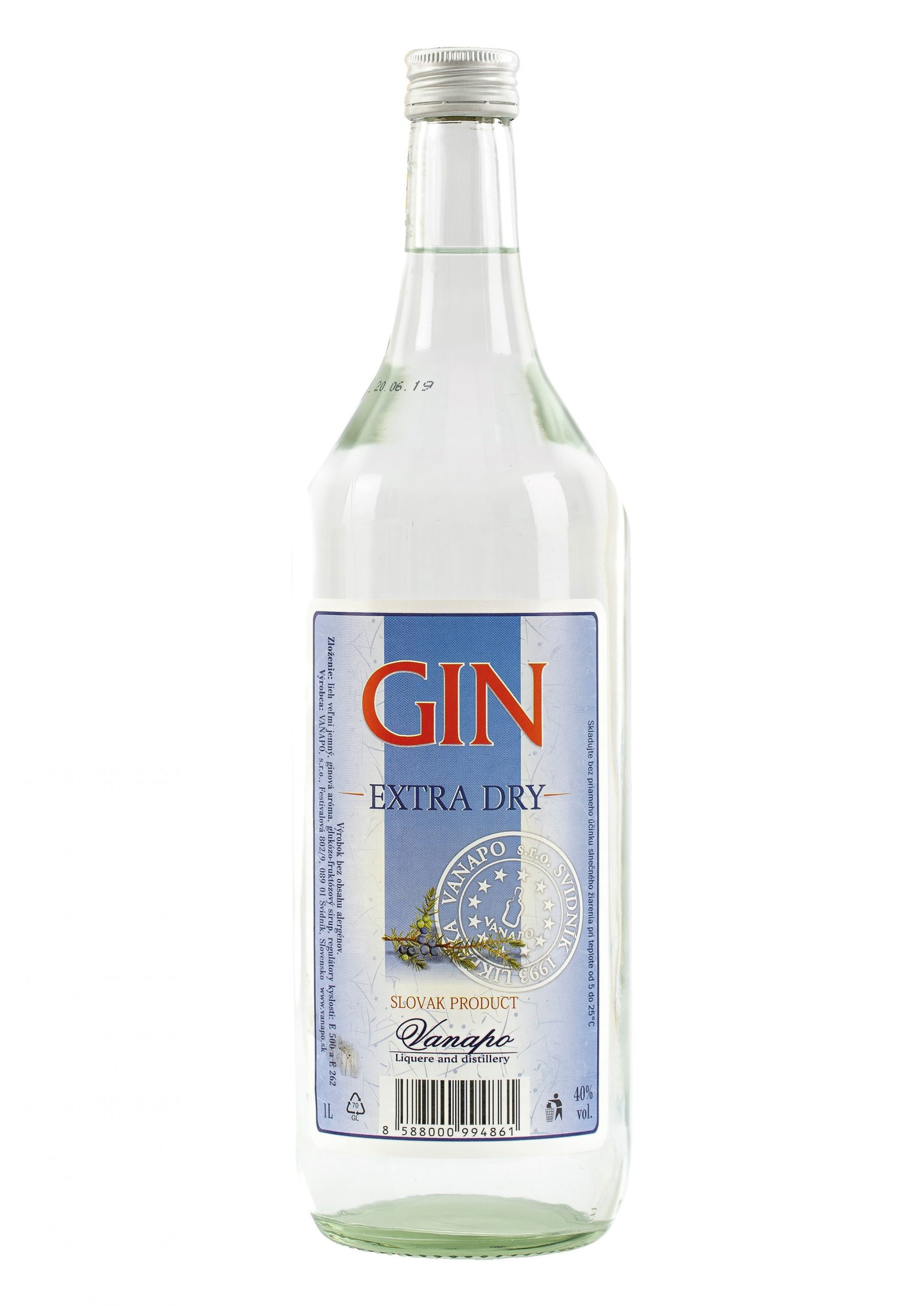 Gin 40 1L scaled 1 - Gin Vanapo