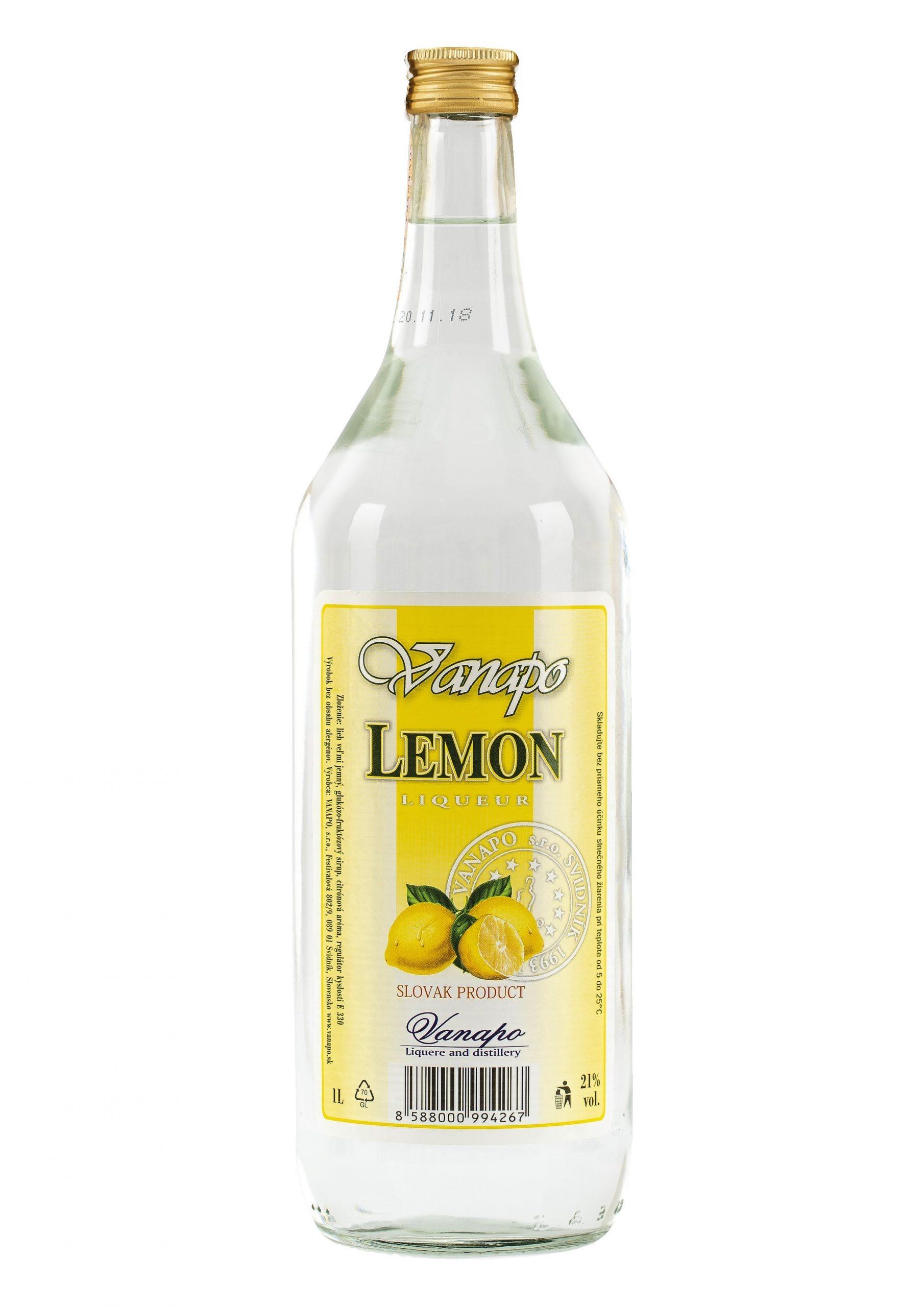 Lemon liker 21 1L scaled 1 - Lemon likér