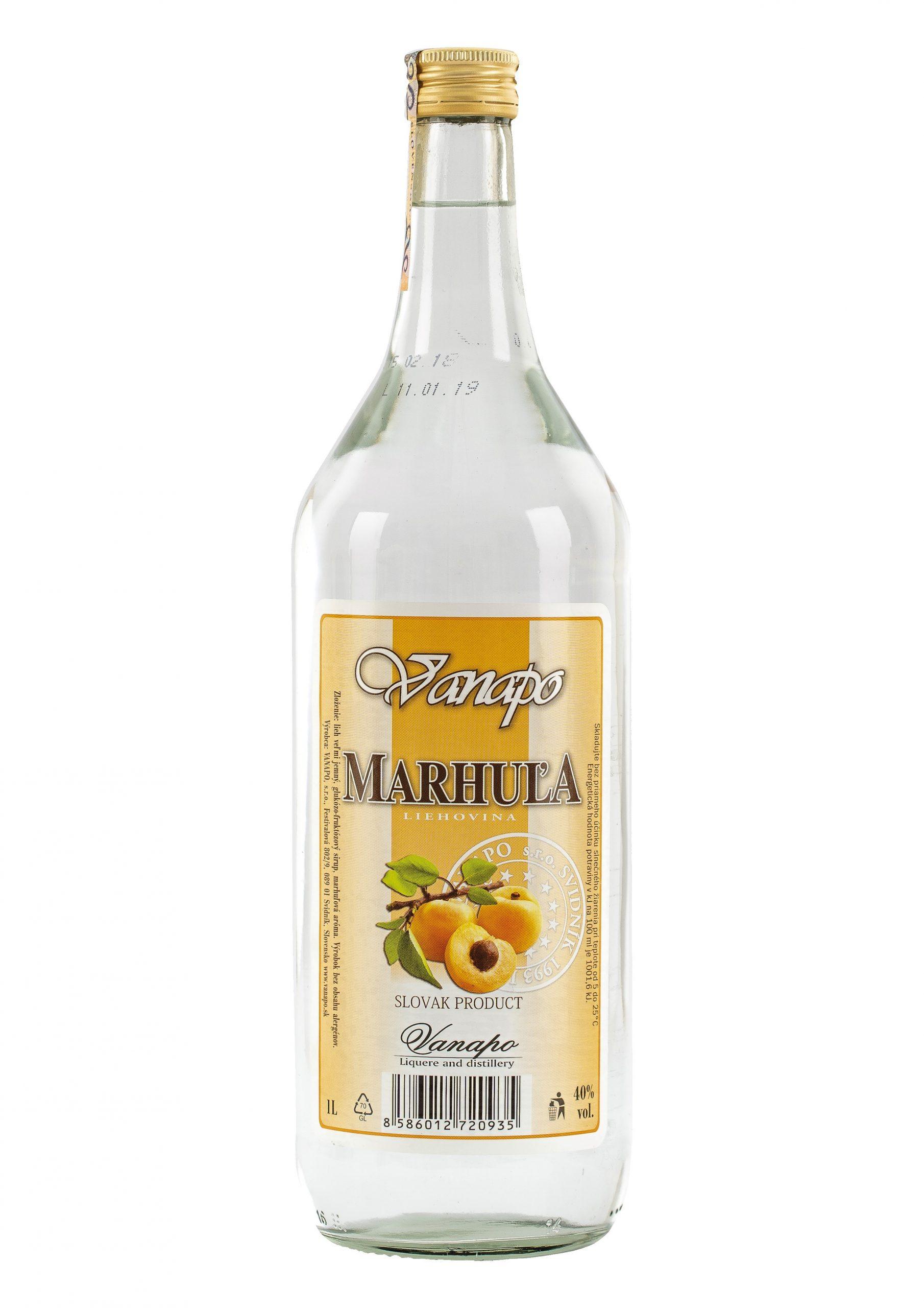 Marhula 40 1L scaled 1 - Marhuľa Vanapo