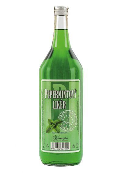 Pepermintovy liker 25 1L scaled 1 400x566 - Pepermint likér