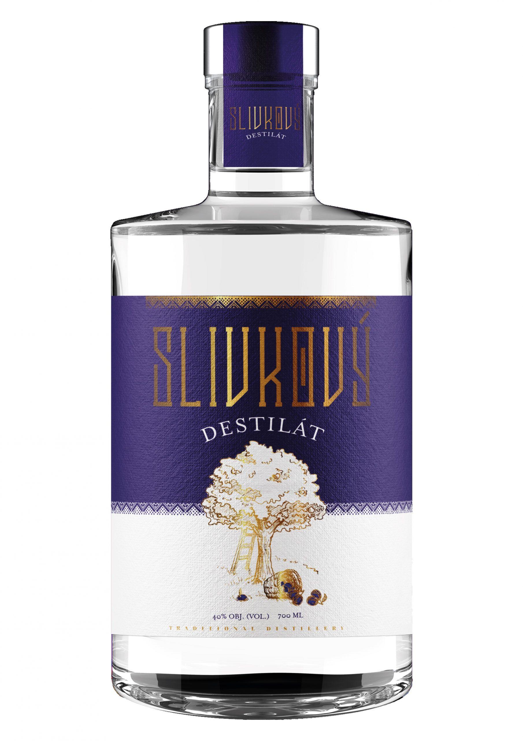 Slivkovy destilat 40 scaled 1 - Slivkový destilát 40%