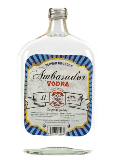 Vodka RETRO 40 1L scaled 1 400x566 - Ambasador Vodka Royal
