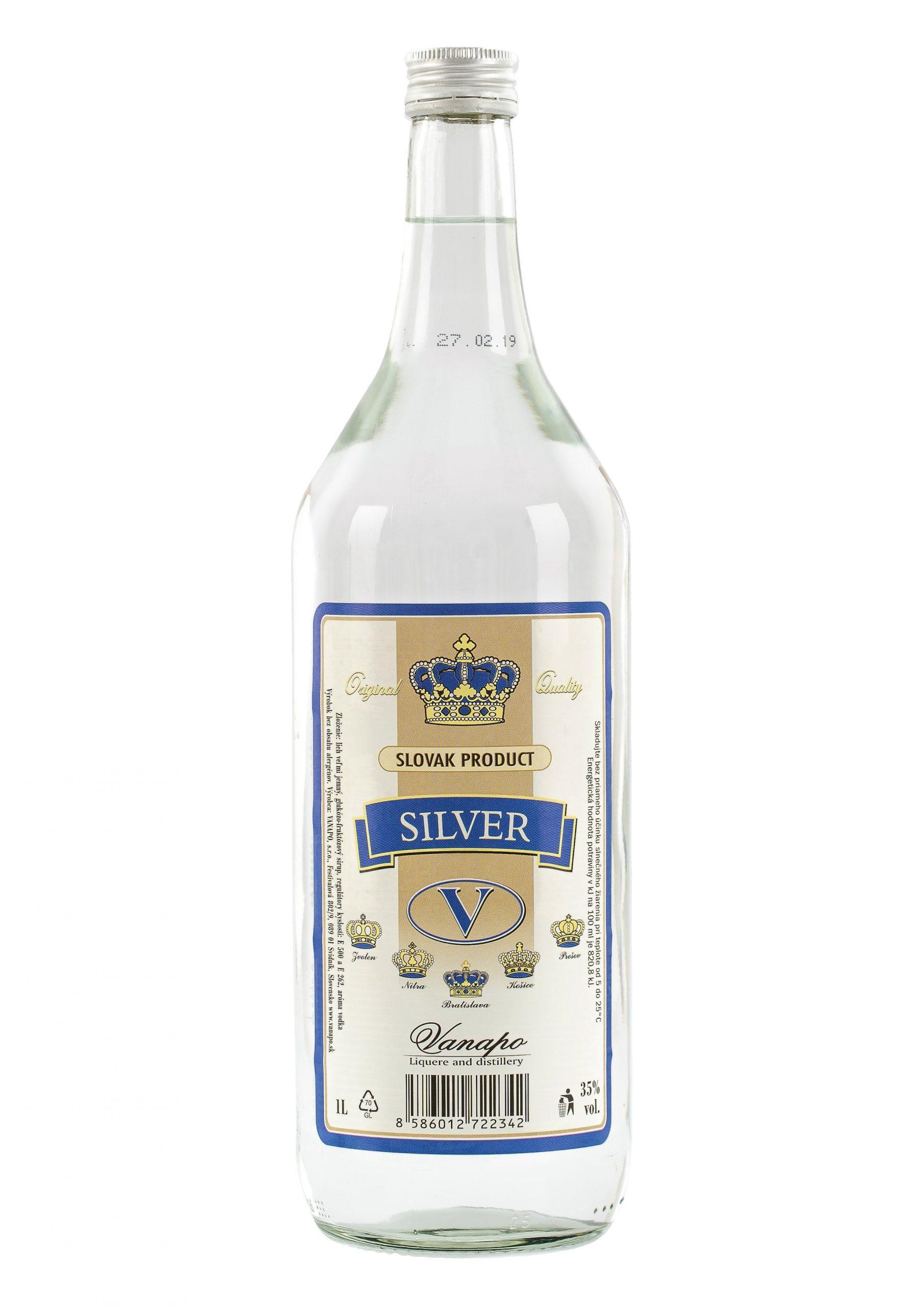 Vodka Silver 35 1L scaled 1 - Silver V